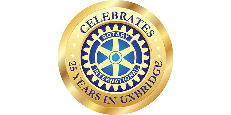 Rotary Club of Uxbridge, Rotary, Rotary Uxbridge, Rotary of Uxbridge celebrates 25 years, 25 years of Rotary in Uxbridge